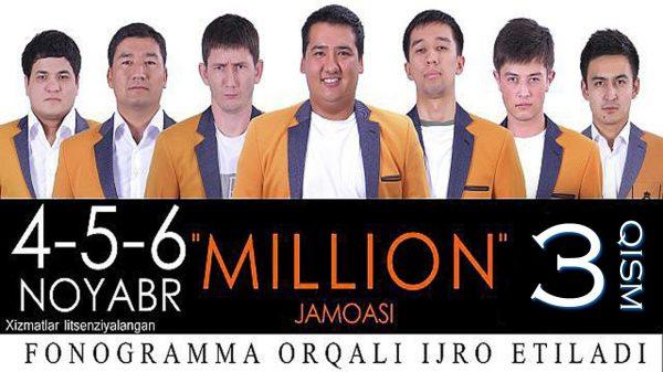 Million Jamoasi 2013 3-qism