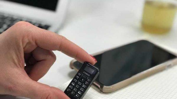 Dunyodagi eng mitti mobil telefon namoyish etildi