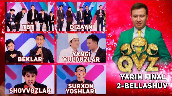 QVZ 2017 Yarim final 2-O'YIN