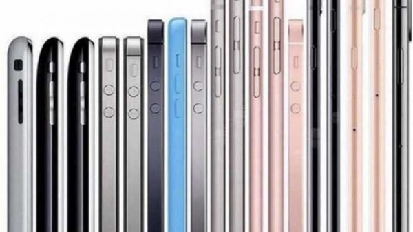 Barcha Iphone modellari bitta rasmda – eng chiroylisi aniqlandi!