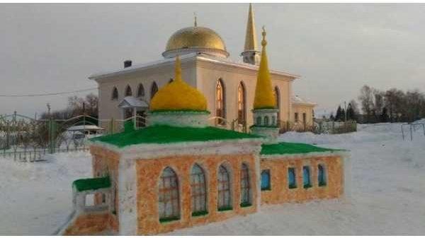 Qordan masjid qurildi