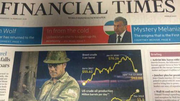 Dunyoga tanilyapmiz o'zbegim: O'zbekiston haqida «Financial Times» nomli mashhur gazetada katta maqola chop etildi!