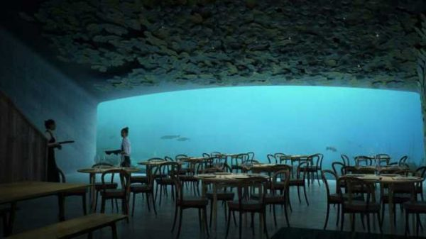 Tanishing, birinchi suv osti restorani (foto)