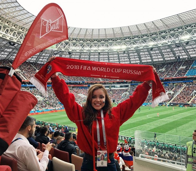 JCh—2018. Rossiyadagi mundialning eng go'zal muxlisalari suratlarda