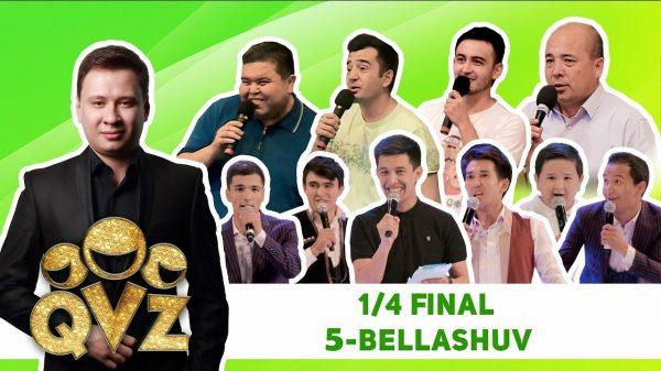QVZ-2017 chorak final 5-o'yin