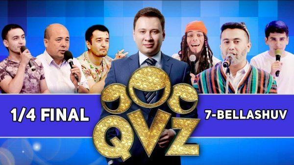QVZ-2017 chorak final 7-o'yin