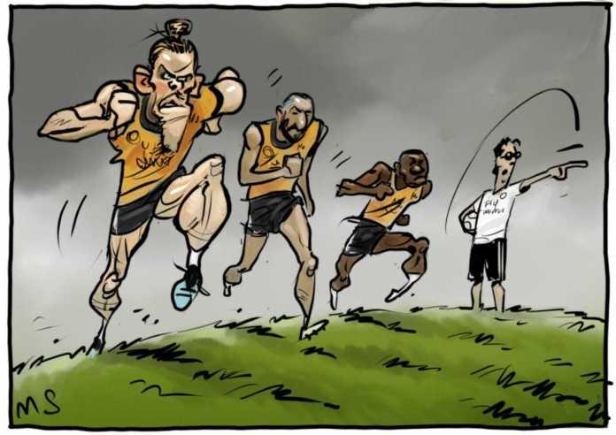 Ronalduning o'rnini egallash uchun poyga boshlandi (+Karikatura)