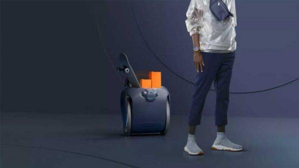 Egasining ortidan yuradigan robot – chamadon!