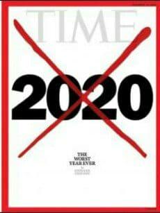 2020 yil insoniyat tarixidagi «eng yomon yil» deb topildi