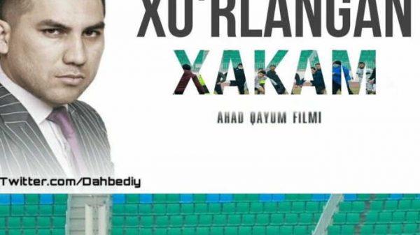Ahad Qayum endilikda yangi yo'nalishda, jangari filmlarni suratga olishni boshlabdi: «Xo'rlangan xakam»
