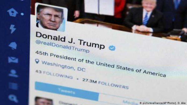 """""""Twitter""""da Trampning postlariga """"layk"""" bosish taqiqlandi"""