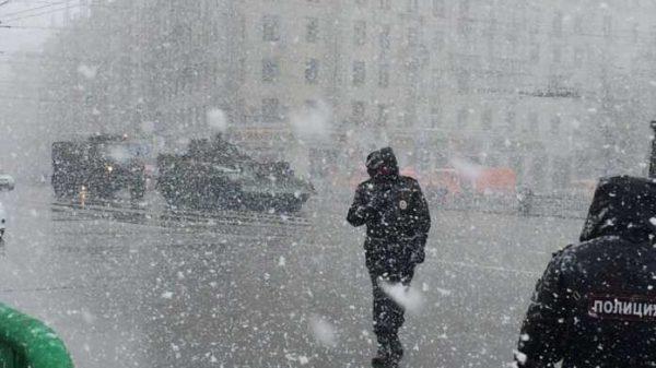 23 fevral Moskvada qishning eng sovuq kuni sifatida qayd etildi.
