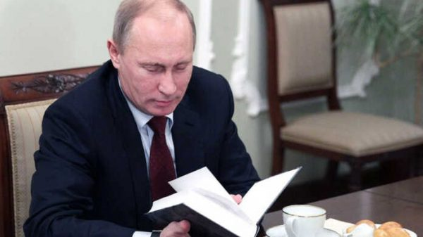 Rossiya prezidentining asosiy xobbisi kitob o'qish ekani ma'lum bo'ldi