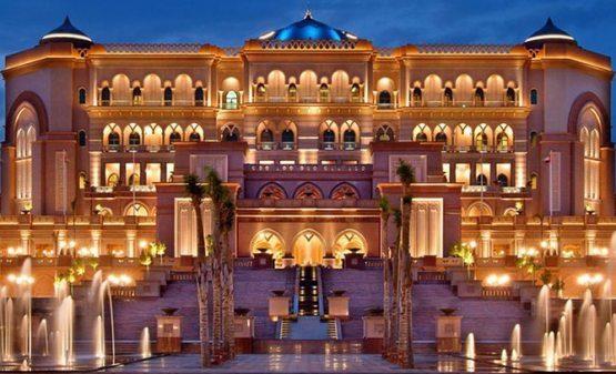 Dunyodagi eng qimmat mehmonxona Emirates Palace (BAA)