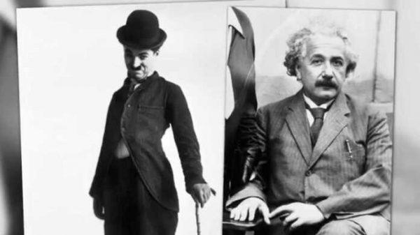 Albert Eynshteyn va Charli Chaplin uchrashganda
