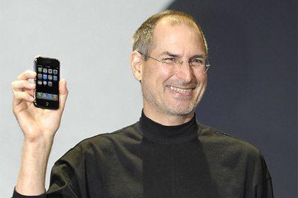 iPhone orqali birinchi qo'ng'iroqni Stiv Jobs amalga oshirgan