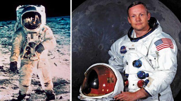 Nil Armstrong boshchiligidagi amerikalik astronavtlarning Oyga qo'nishi (video)