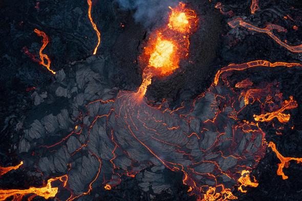 Islandiyada uyg'oq vulqon sotuvga qo'yildi
