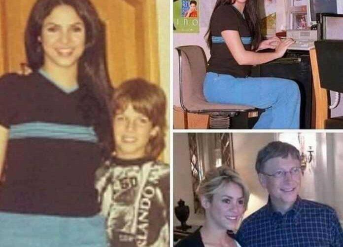 Shakira Bill Geytsning o'qituvchisi bo'lgan ekan