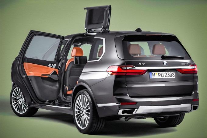 BMW o'ta noodatiy eshiklarni patentladi