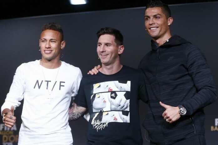 Messi va Neymar ortda qoldi. Krishtianu birinchida!