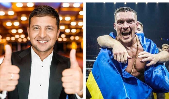 Zelenskiy Usikning g'alabasi haqida «Ukraina o'ziga tegishlisini qaytib olmoqda…»
